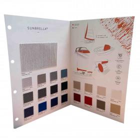 Nuancier Sunbrella Marine - Tissus protection nautique - Tissus ameublement