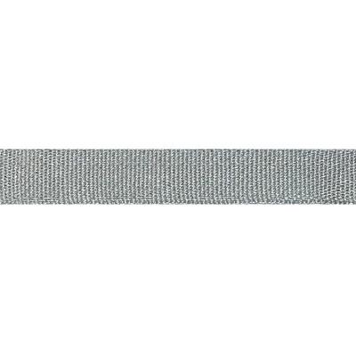 Galon Métal Simple 12mm 1901 IDF - Gris 101