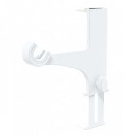 2 Supports pour Coffre de Volet Roulant Blanc sans perçage Ø20-28 mm - Habillage de la fenêtre