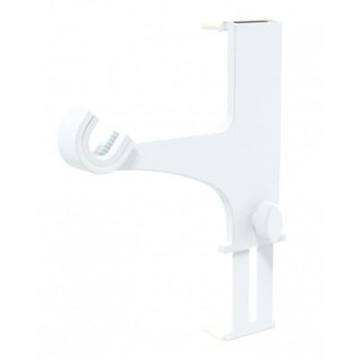2 Supports pour Coffre de Volet Roulant Blanc sans perçage Ø20-28 mm