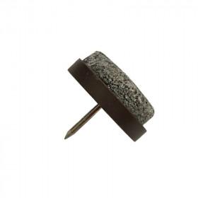 Patin glisseur feutre 20 mm - Par 10 - Fournitures tapissier
