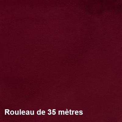 Tissu Velaos Non Feu M1 430g/m² Bordeaux, le rouleau de 35m