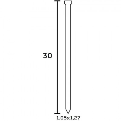 Finettes BEA Type SK 300 pour cloueur 30 mm