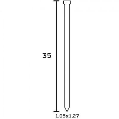 Finettes BEA Type SK 300 pour cloueur 35 mm