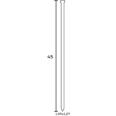 Finettes BEA Type SK 300 pour cloueur 45 mm