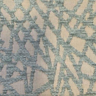 Tissus Froca - Gabanna 47 Beige/Bleu ciel