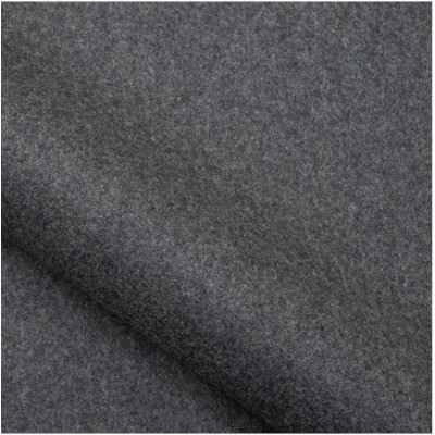 Tissu Nobilis Collection Mont Blanc Non feu - Anthracite - 150 cm