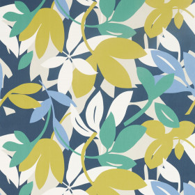 Tissu Scion Collection Nuevo - Baja Forest/Citrus/Electric blue - 139 cm