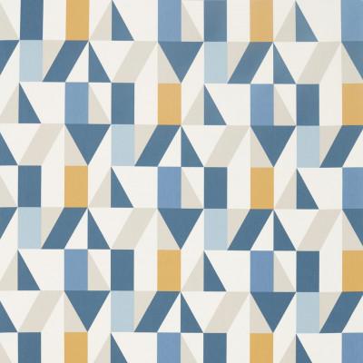 Tissu Scion Collection Nuevo - Nuevo Indigo/Slate/Satsuma - 139 cm