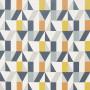 Tissu Scion Collection Nuevo - Nuevo Dandelion/Charcoal/Brick - 139 cm