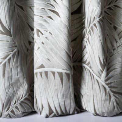 Tissu Nobilis Velours Collection Cycas - Taupe - 140 cm