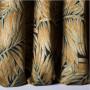Tissu Nobilis Velours Collection Cycas - Or - 140 cm