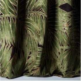 Tissu Velours Nobilis Collection Cycas - Crème - 140 cm