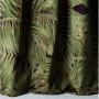 Tissu Nobilis Velours Collection Cycas - Vert kaki - 140 cm