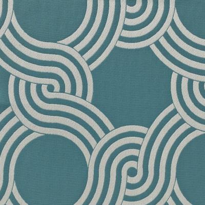 Tissu Nobilis Collection Sunrise Copacabana - Turquoise - 140 cm