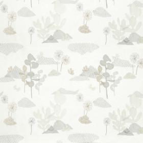 Tissu Nobilis Collection Botanica Fico d'india - Taupe clair - 130 cm