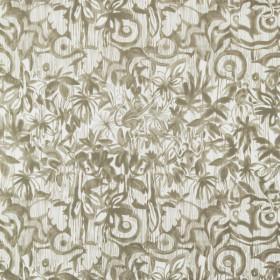 Tissu Nobilis Collection Botanica Sapajou - Beige tortue - 139 cm