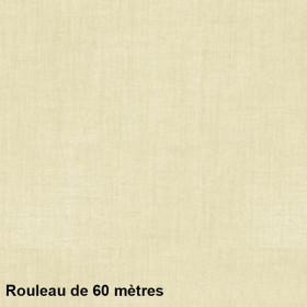 Voilage Polyester Etamine Champagne Rouleau de 60m - Tissus ameublement