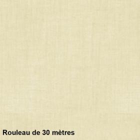 Voilage Polyester Etamine Champagne Rouleau de 30m - Tissus ameublement