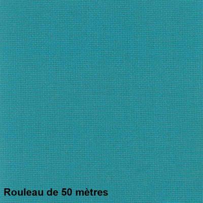 Tissu Collège Non Feu M1 Lagon 140 cm, le rouleau de 50 mètres