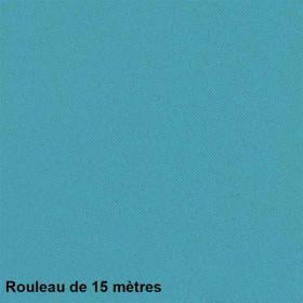 Tissu Bora Non Feu M1 Cyan, le rouleau de 15 mètres - Tissus ameublement