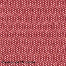 Tissu Riko Non Feu M1 420g/m² Rouge, le rouleau de 15m