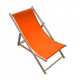 Toile transat - Orange - 43 cm - Tissus ameublement