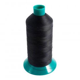 Bobine de fil Noir SERABOND N°40 - 4600ml - 7020U - Mercerie