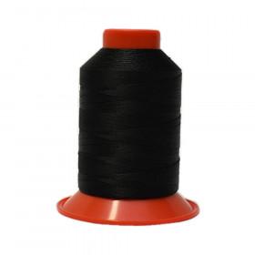 Fusette de fil Noir SERAFIL N°20 - 600 ml - 4000 - Mercerie