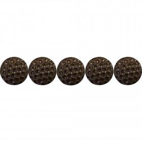 """500 Clous tapissiers Style Fer \\""""Nid d'abeille\\"""" Bronze Doré 15 mm - Clous tapissier"""