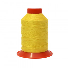 Fusette de fil Jaune SERAFIL N°30 - 900 ml - 113 - Mercerie