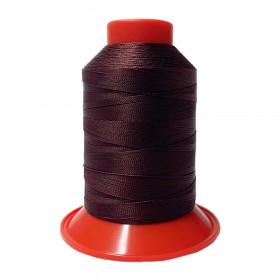 Fusette de fil Rouge Vin SERAFIL N°30 - 900 ml - 166 - Mercerie