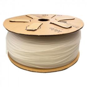Passepoil en plastique - souple et plein - 4mm - Transparent 25m - Fournitures tapissier