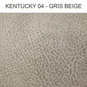 Simili Cuir Froca - Kentucky 04 Gris Beige, au mètre
