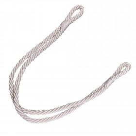 Embrasse cordon Crétois 280 mm pour rideaux, Blanc