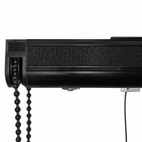 Mécanisme store bateau noir sur mesure 30 à 200cm - Avec accessoires - Habillage de la fenêtre