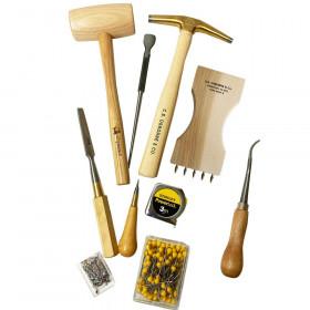 Kit outils tapissiers : Débutant - Outils tapissier