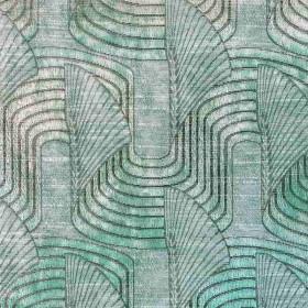 Tissu Casal - Collection Lalique - Céladon - 140 cm - Tissus ameublement