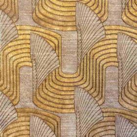 Tissu Casal - Collection Lalique - Paille- 140 cm - Tissus ameublement