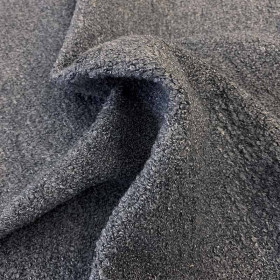 Tissu Casal - Collection Curly- Acier- 138 cm - Tissus ameublement