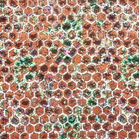 Tissu Casal - Collection Passion - Papaye - 138 cm