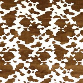 Tissu Casal - Collection Animal - Normande Noisette - 140 cm