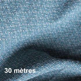 Tissu Glamis Non Feu Jade, 30 mètres - Tissus ameublement