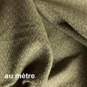 Tissu Glamis Non Feu Mousse, Au mètre - Tissus ameublement