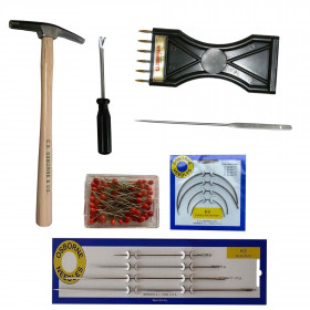 Kit outils tapissiers occasionnel - Outils tapissier