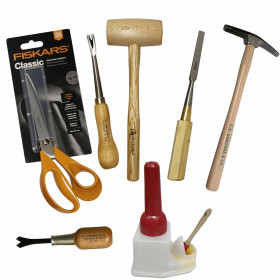 Kit Outils Tapissiers pour garnissage mousse - Outils tapissier