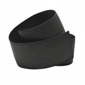 Sangle élastique noire TOP 65 mm, le mètre - Fournitures tapissier