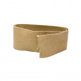 Sangle jute unie CS 850 - 85 mm, le mètre - Fournitures tapissier