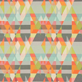 Tissu Scion Collection Esala - Axis Mandarine Agrumes - 142 cm