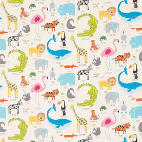 Tissu Scion Collection Guess Who - Animal Magic - 137 cm